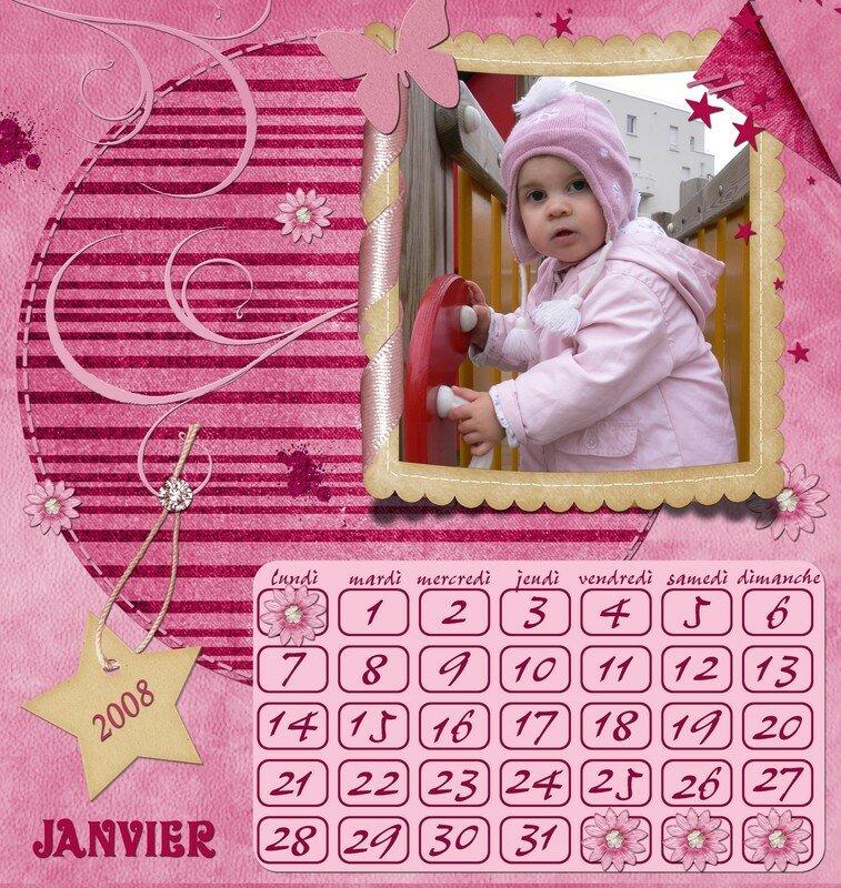 0-001 calendrier janvier