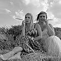 Les demoiselles de zuydcoote en version noir et blanc