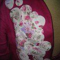 Veste en lin customise 2