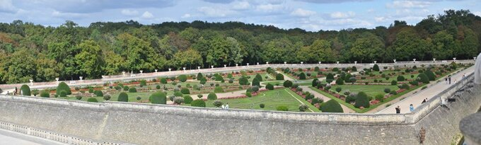 Panorama Chenonceau 2