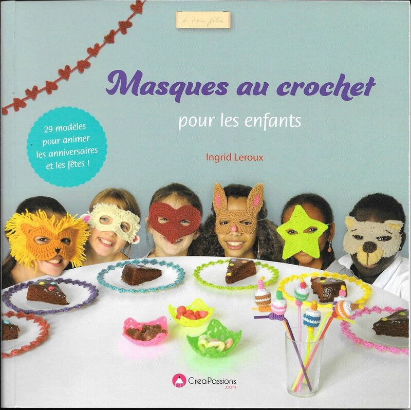 masques au crochet