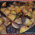 Baeckeofe de joues de porc au pinot noir