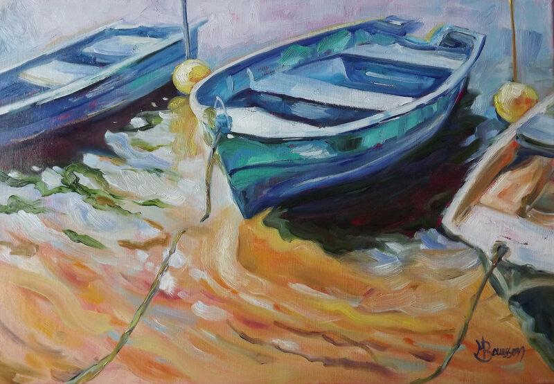 Barques à Ribou