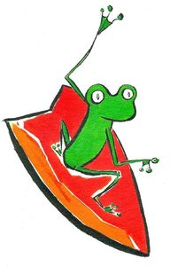 Surfing frogg 3