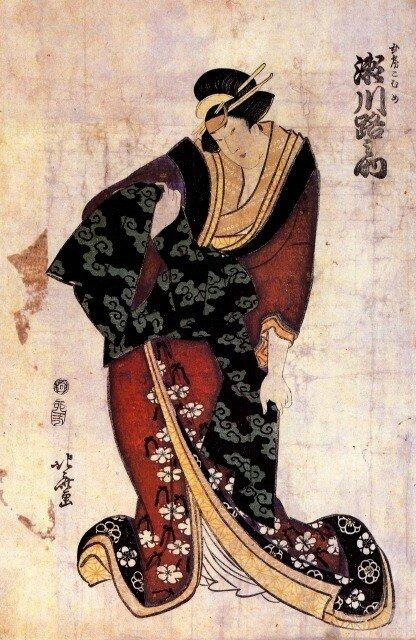 Hokusai Estampe