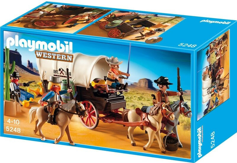 id e cadeau les playmobil version western ressources. Black Bedroom Furniture Sets. Home Design Ideas
