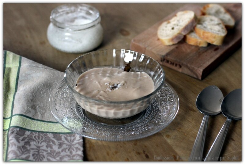 Crème de marrons et champignons 015