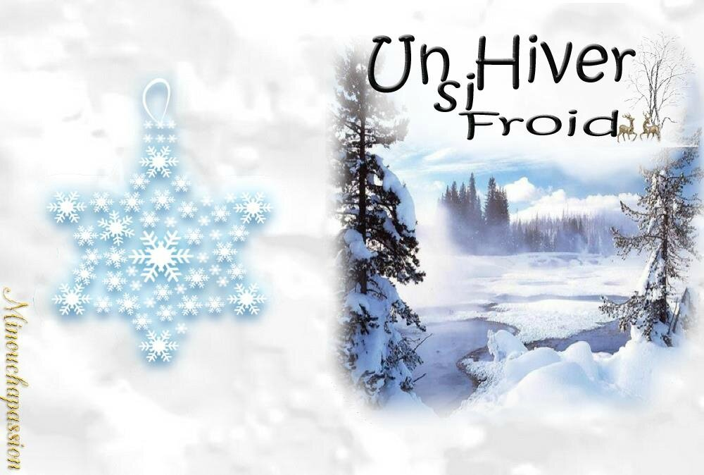 CARTE HIVER CREATION MINOUCHAPASSION