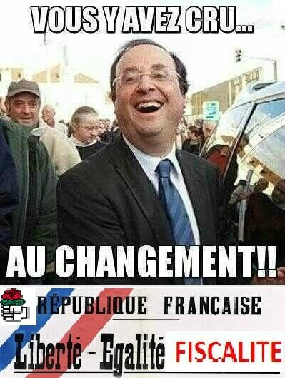 HOLLANDE Changement