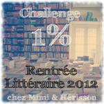 1% rentrée littéraire 2012