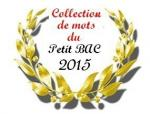 collection de mots 2015