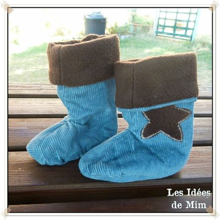 Chaussons Bottes Baptiste