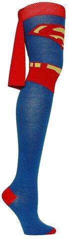 superman_cape_thigh_high_socks_sockdrawer