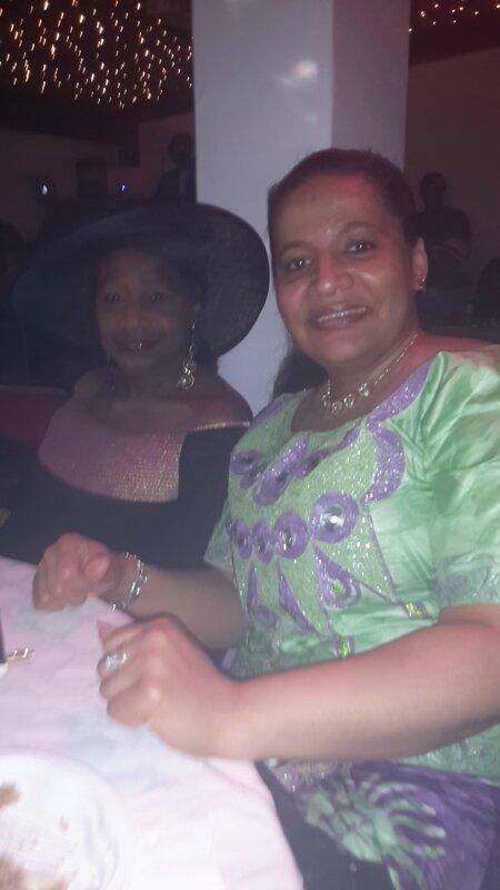 Mme Konaté et moi