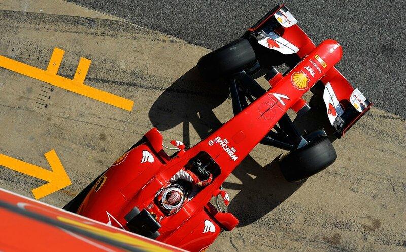2015-Barcelone essais prives-SF15-T-Raikkonen