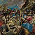 Doménikos theotokópoulos, called el greco (crete 1541-1614 toledo), the entombment of christ