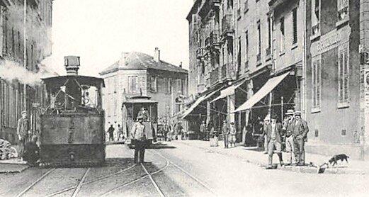 rue Victor-Hugo plan rapproché