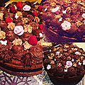 Gateau au chocolat facon chiffon cake