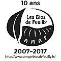 10 ans de l'amap les bios de feuilly