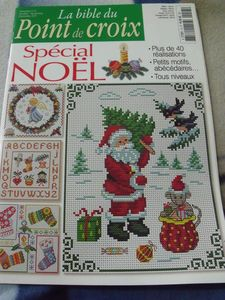 la bible du point de croix special noel