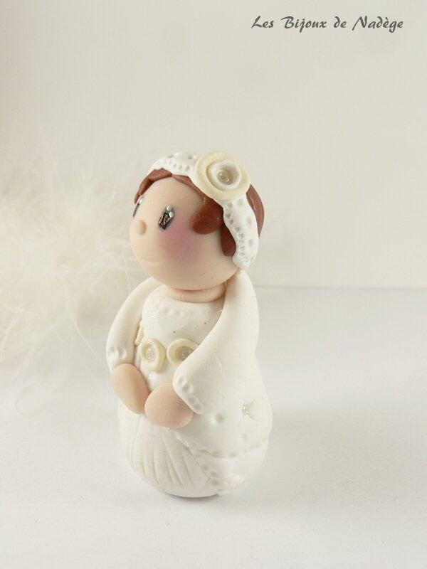figurine baptême fille 4