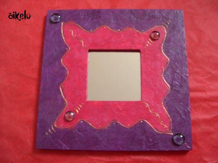 Miroirs fushia_violet