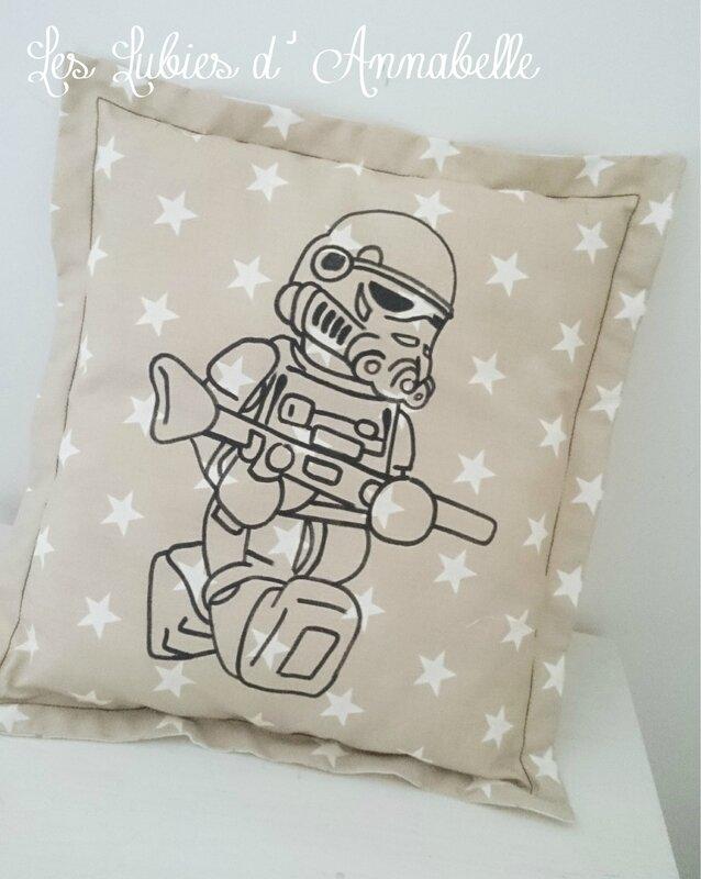 Coussin LEGO Soldat de l'empire