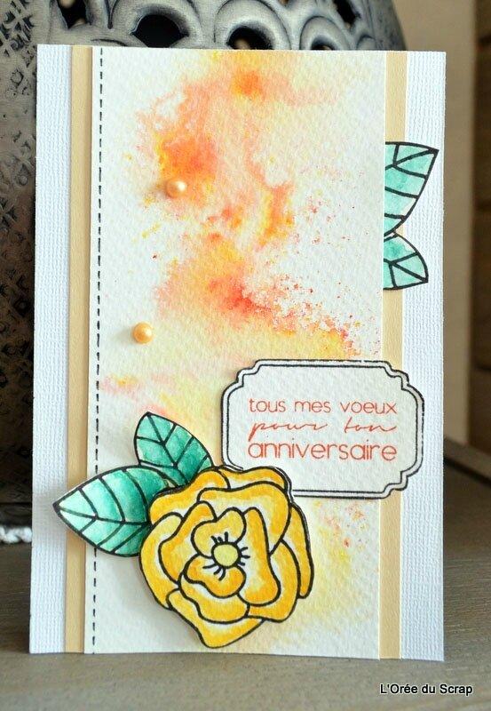 carte scrap blogorel loreeduscrap brushos rose