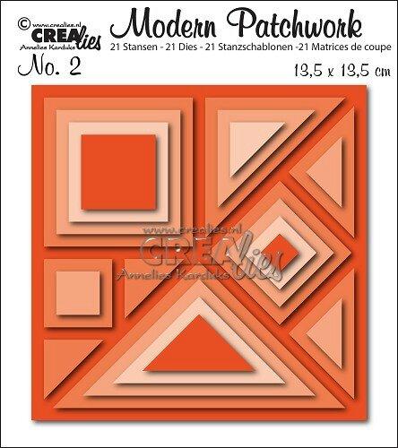 Modern Patchwork n°2 Crealies