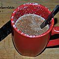 Boisson chocolatée à la coco