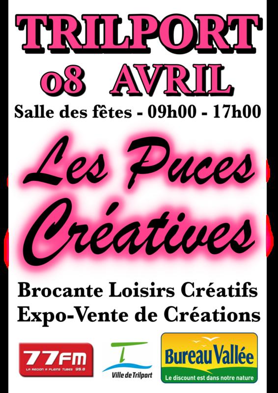 Affiche A3 - Puces Créatives