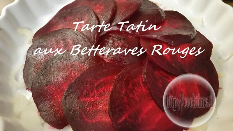 tarte tatin aux betteraves rouges thermomix cook time. Black Bedroom Furniture Sets. Home Design Ideas