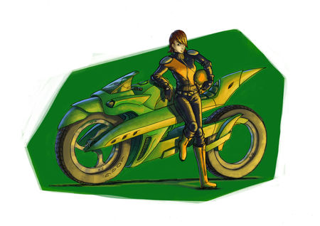 super_bike_green