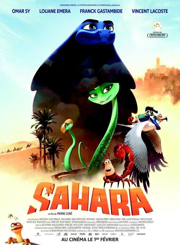 Sahara affiche