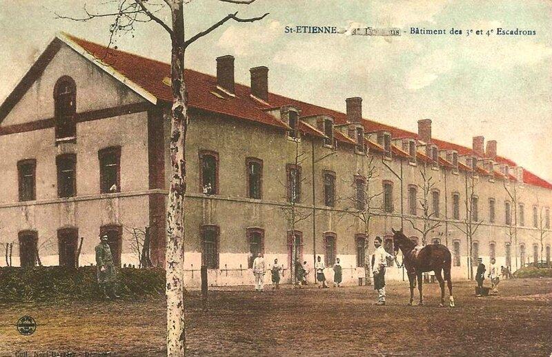caserne 14e Dragons St-Étienne (1)