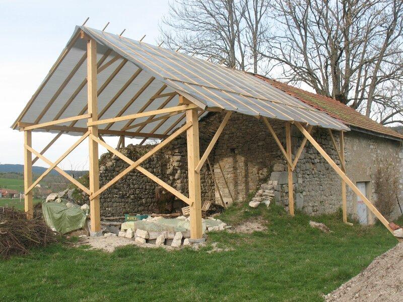Mc les travaux de la chapelle st Vital en 2011