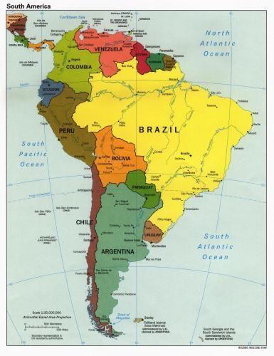 Mapa_Politico_Sur_America