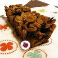 ..flapjacks aux myrtilles et flocons d'azuki..