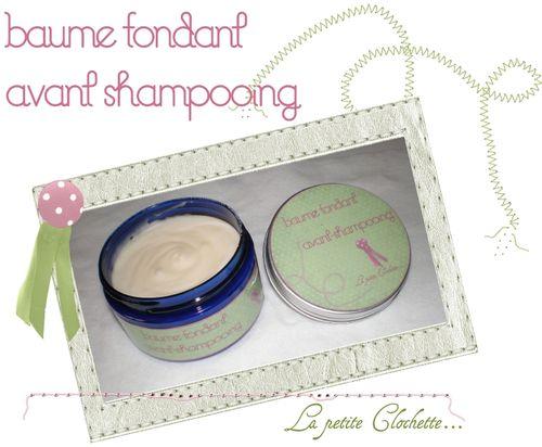 baume fondant avant shampooing