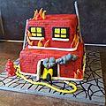 La maison qui brûle
