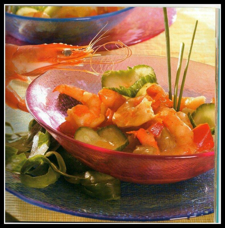 petite recette aux crevettes