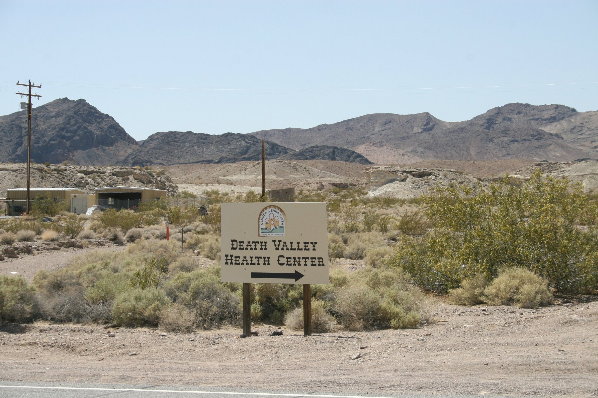 En route vers Death Valley