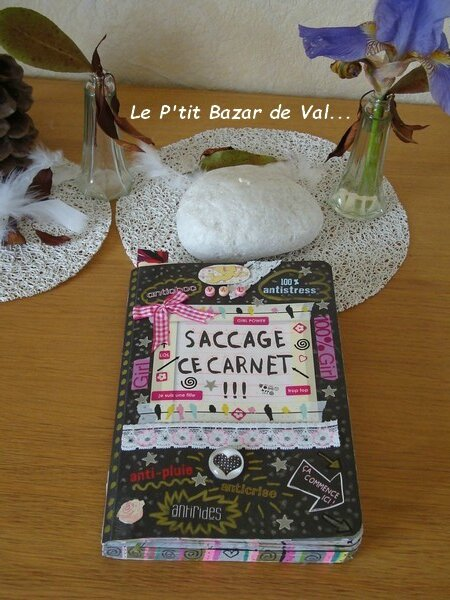 SACCAGE CE CARNET - 4 OU WRECK THIS JOURNAL