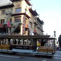 San francisco, les cable cars