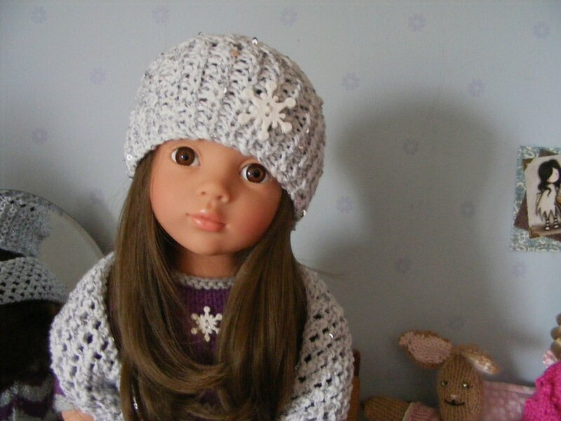 Little Missoni A hat and scarf