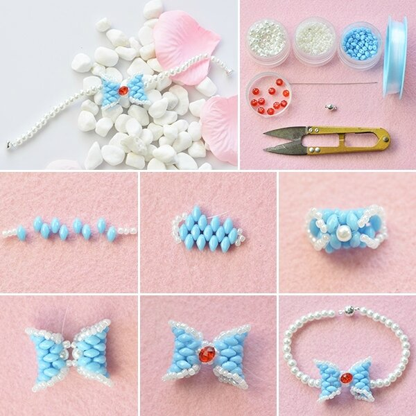 600-How-to-Make-Chic-2-Hole-Seed-Beads-Bow-Bracelet-with-Pearl-and-Glass-Beads