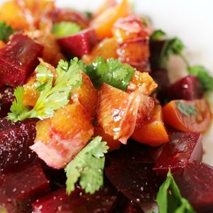 salade betterave - orange sanguine