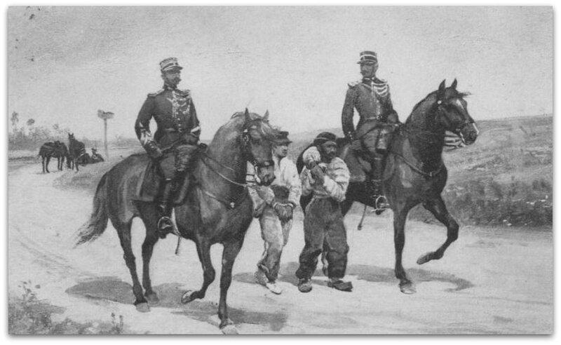 gendarme à cheval z