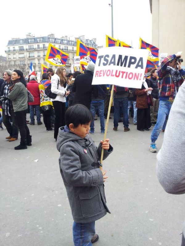 10 march 2012 Paris Tibet 3
