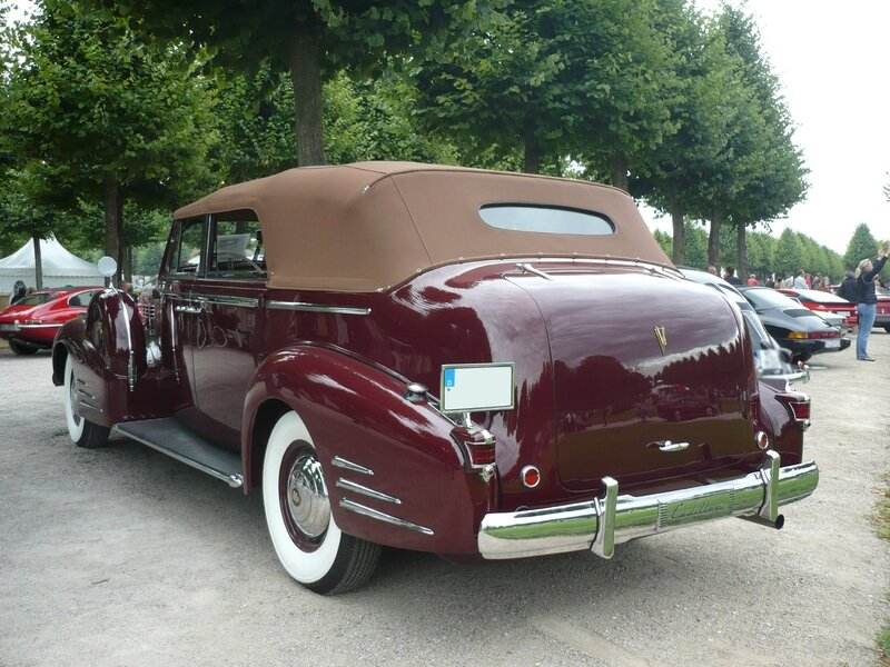 CADILLAC Series 75 Convertible Sedan 1938 Schwetzingen (2)